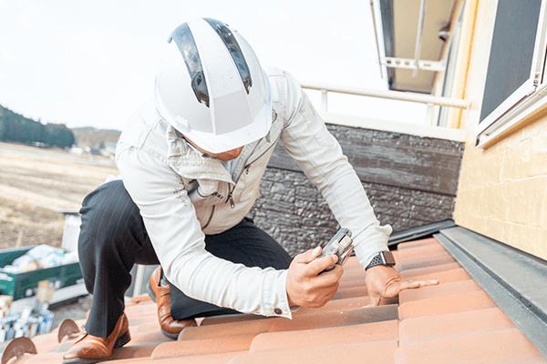一級施工管理技士が屋根を診断します