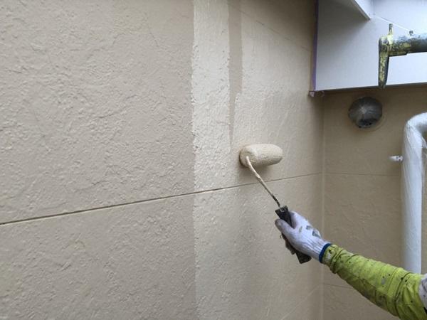 東京都世田谷区 外壁塗装 KFケミカル 無機セミフロンスーパーアクア (2)