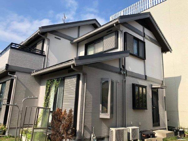 東京都世田谷区 屋根塗装・外壁塗装・付帯部塗装・シーリング打ち替え工事  (7)