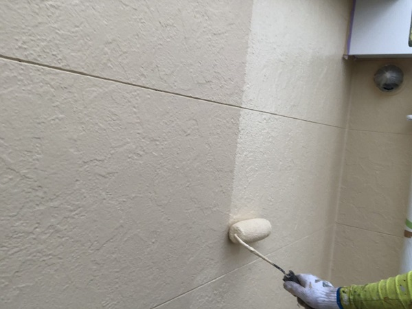 東京都世田谷区 外壁塗装 KFケミカル 無機セミフロンスーパーアクア (3)