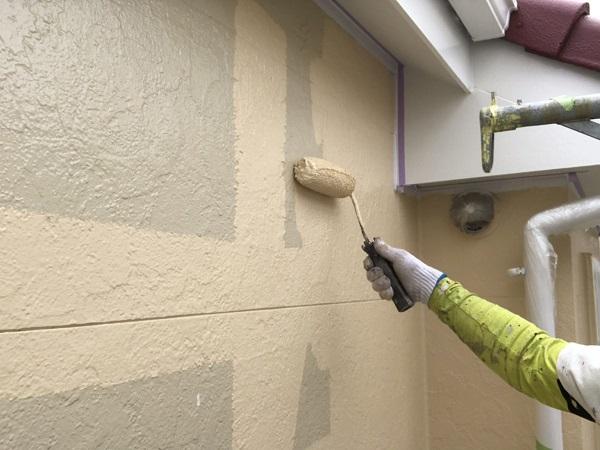 東京都世田谷区 外壁塗装 KFケミカル 無機セミフロンスーパーアクア (1)