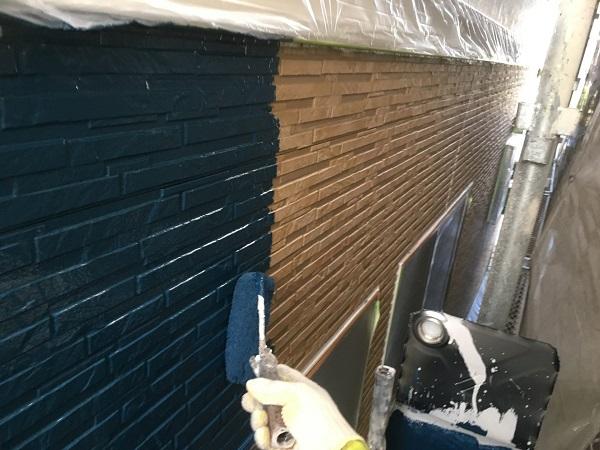 東京都世田谷区 外壁塗装 施工方法 ローラー工法の理由 塗料について (1)