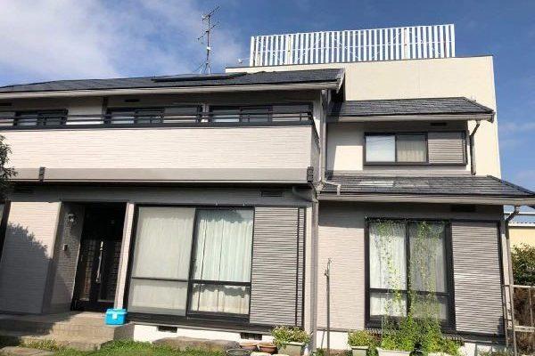 東京都世田谷区 屋根塗装・外壁塗装・付帯部塗装・シーリング打ち替え工事  (4)