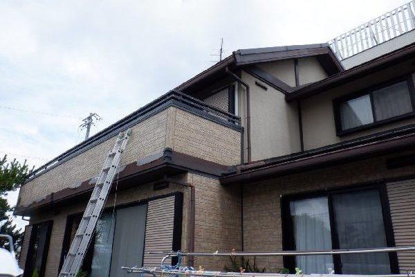 東京都世田谷区 屋根塗装・外壁塗装・付帯部塗装・シーリング打ち替え工事  (1)