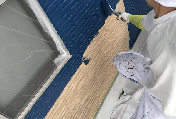 東京都世田谷区 外壁塗装 施工方法 ローラー工法の理由 塗料について (3)