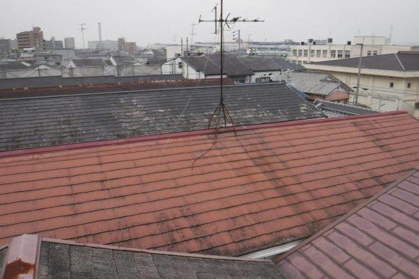東京都中野区 屋根塗装 (1)
