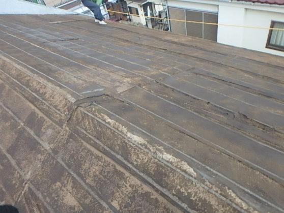 東京都中野区 屋根葺き替え 瓦屋根からガルバリウム鋼板に2