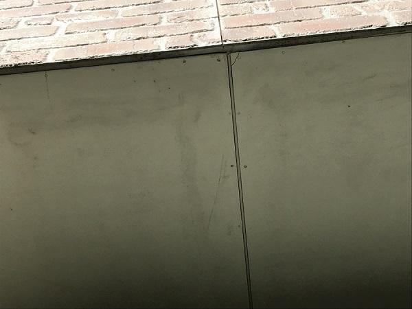 東京都杉並区 外壁塗装 現場調査 チョーキング現象 コーキング打ち替え工事 (4)