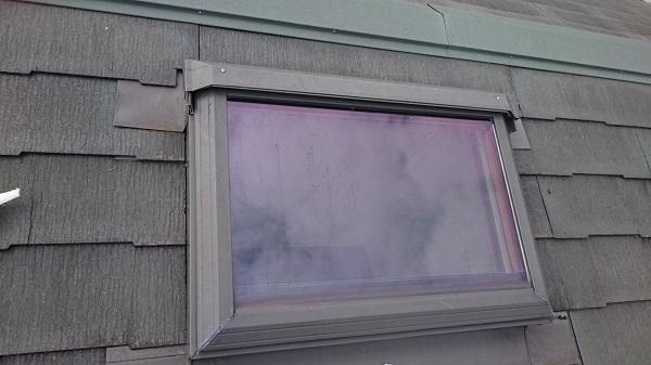 東京都世田谷区 屋根塗装 天窓改修 雨漏り (2)