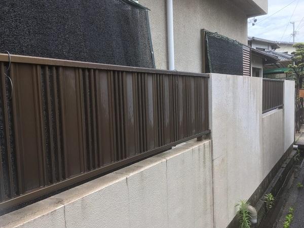 東京都中野区 屋根塗装 ベランダ床塗装 高圧洗浄 (3)