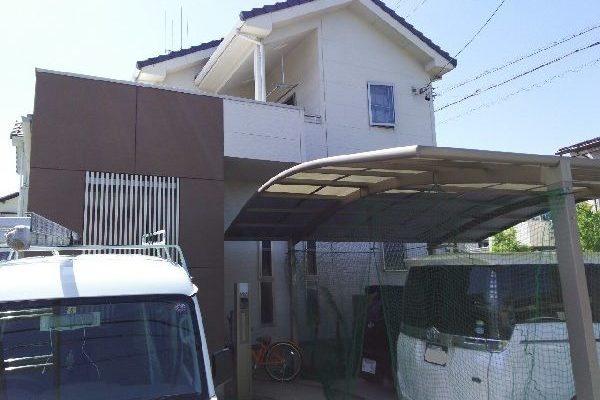 東京都世田谷区 外壁塗装・付帯部塗装・シーリング打ち替え (1)