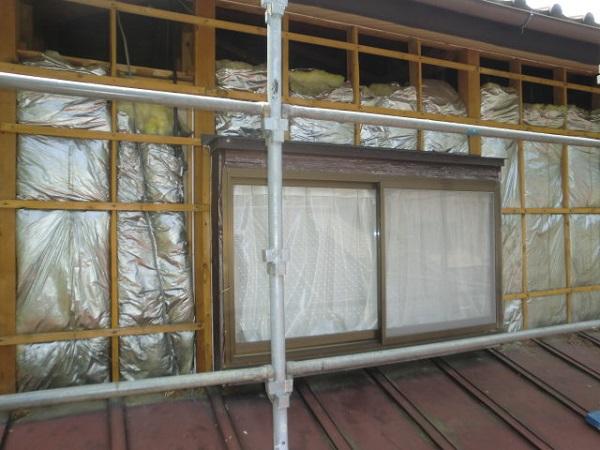 東京都中野区 屋根葺き直し工事・外壁張替え工事 (1)