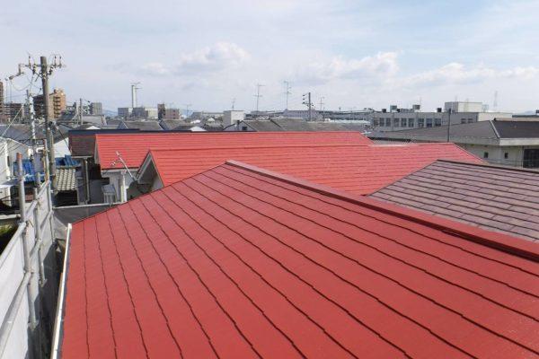 東京都中野区 屋根塗装 (2)