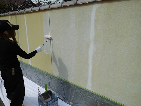 東京都世田谷区 外壁塗装 外構塗装 高圧洗浄 巾木塗装 (3)
