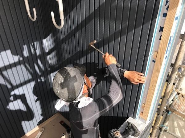 東京都杉並区 外壁張り替え工事 (1)