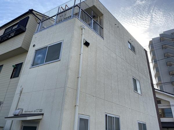 東京都杉並区 外壁塗装 雨漏り調査 シーリング工事 (1)