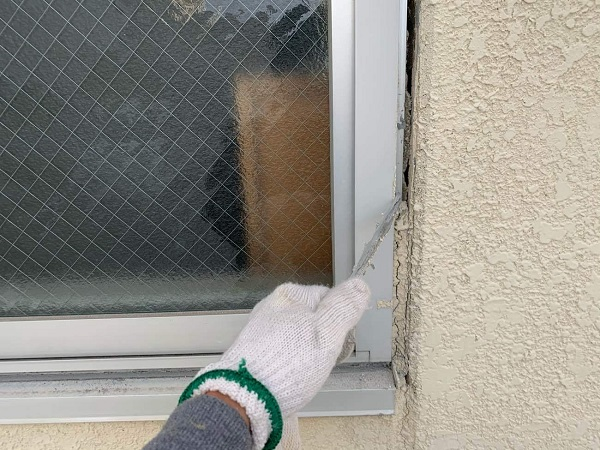 東京都杉並区 外壁塗装 雨漏り調査 シーリング工事 (3)