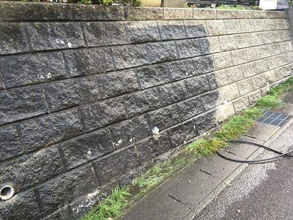 東京都世田谷区 屋根塗装 雨の日の高圧洗浄作業 (6)