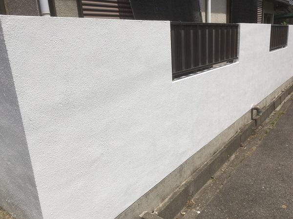 東京都世田谷区 外構塗装 ケレン (6)