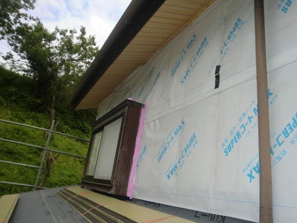 東京都中野区 屋根葺き直し工事・外壁張替え工事 (3)