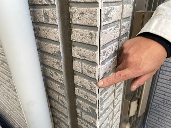 東京都中野区 外壁塗装 シーリング工事 進捗状況 (3)