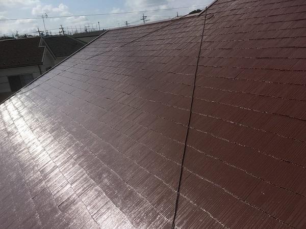 東京都中野区 屋根塗装 タスペーサー 日本ペイント 遮熱塗料 サーモアイ (8)