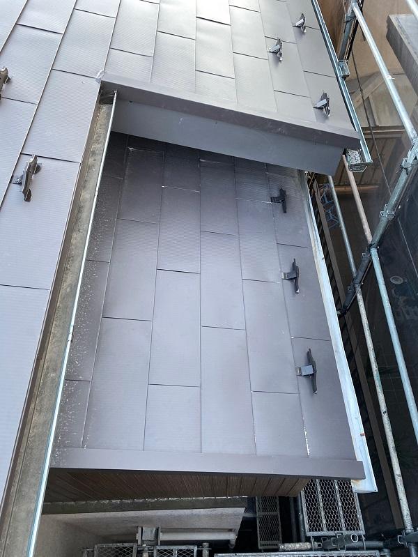 東京都世田谷区 屋根リフォーム工事 ガルバリウム鋼板 (3)