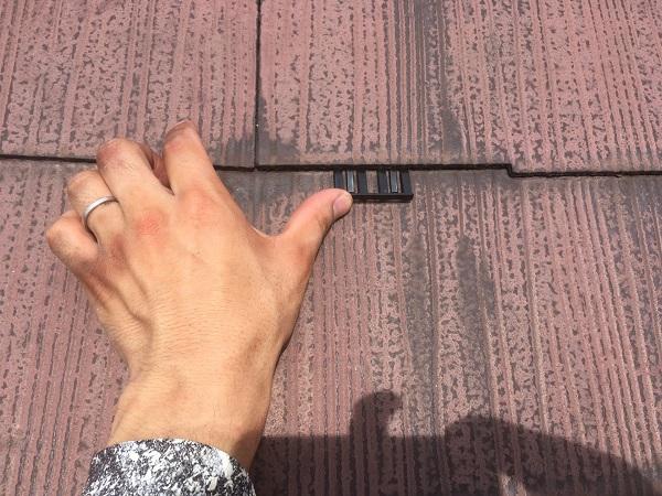東京都中野区 屋根塗装 タスペーサー 日本ペイント 遮熱塗料 サーモアイ (2)