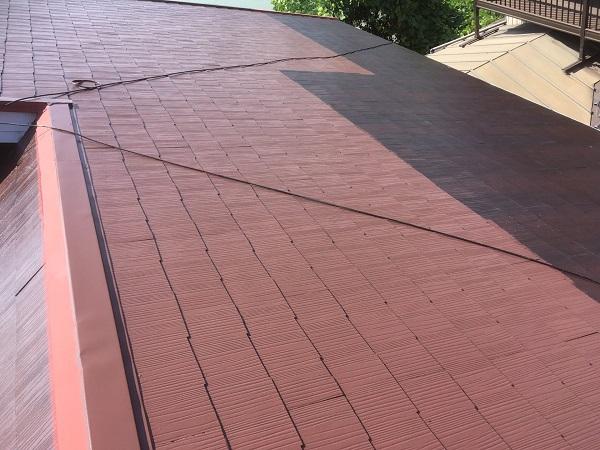 東京都中野区 屋根塗装 タスペーサー 日本ペイント 遮熱塗料 サーモアイ (4)