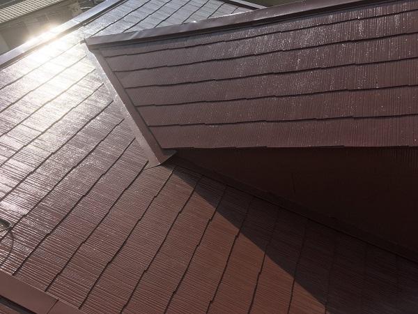 東京都中野区 屋根塗装 タスペーサー 日本ペイント 遮熱塗料 サーモアイ (7)