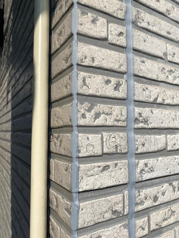 東京都中野区 外壁塗装 シーリング工事 進捗状況 (1)