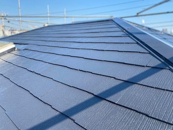東京都杉並区 屋根塗装 タスペーサー 日本ペイント パーフェクトトップ ラジカル制御式 (3)