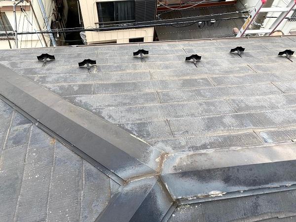 東京都杉並区 屋根カバー工法工事 ガルバリウム鋼板 (2)