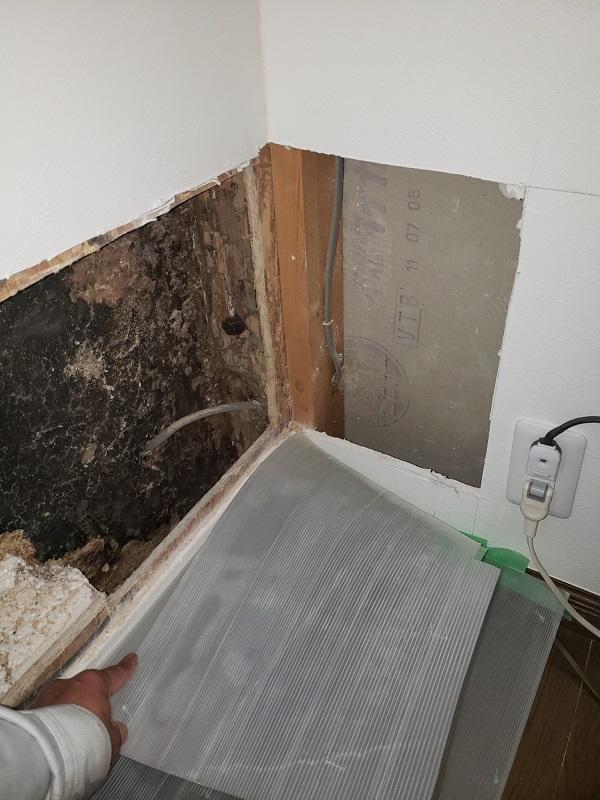 東京都中野区 屋根葺き替え工事 雨漏り コロニアル屋根の劣化 (1)