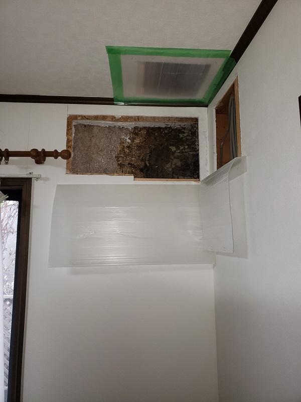 東京都中野区 屋根葺き替え工事 雨漏り コロニアル屋根の劣化 (4)