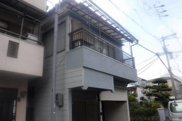 東京都杉並区 外壁工事(サイディング、外壁塗装) (2)