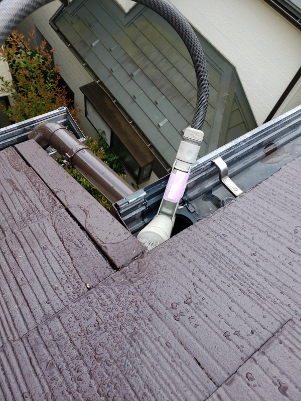 東京都杉並区 雨樋修理 外壁塗装 雨漏り (2)