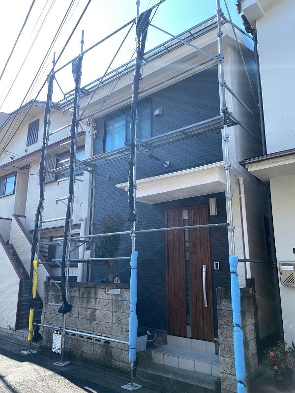 東京都中野区 サイディング張り替え コーキング工事