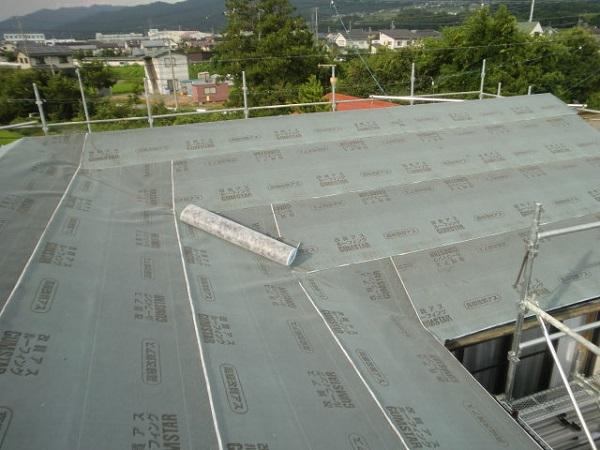 東京都世田谷区 屋根葺き直し工事 スタンビー333フラットタイプ (3)