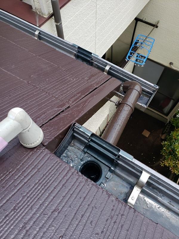 東京都杉並区 雨樋修理 外壁塗装 雨漏り (1)