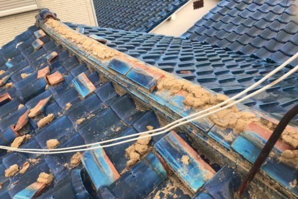 東京都杉並区 屋根葺き替え工事 ガルバリウム鋼板 (1)