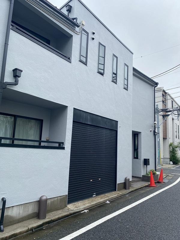 東京都世田谷区 外壁塗装・屋根塗装・防水工事 付帯部塗装 完工 定期訪問サポート (1)