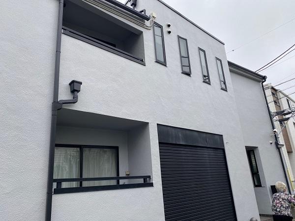 東京都世田谷区 外壁塗装・屋根塗装・防水工事 付帯部塗装 完工 定期訪問サポート (3)