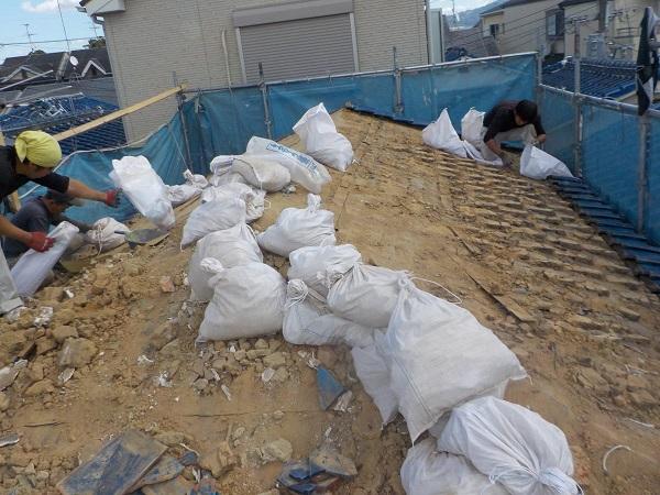 東京都杉並区 屋根葺き替え工事 ガルバリウム鋼板 (3)