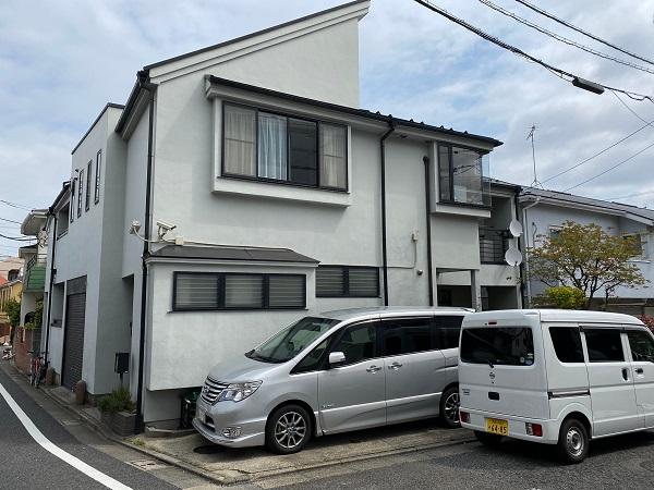 東京都世田谷区 外壁塗装・屋根塗装・防水工事 外壁事前調査 (5)
