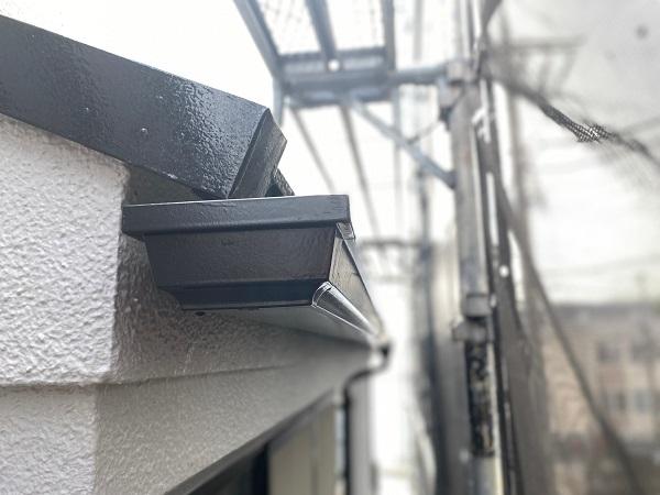 東京都世田谷区 外壁塗装・屋根塗装・防水工事 付帯部塗装 鼻隠し 階段 雨樋 (1)