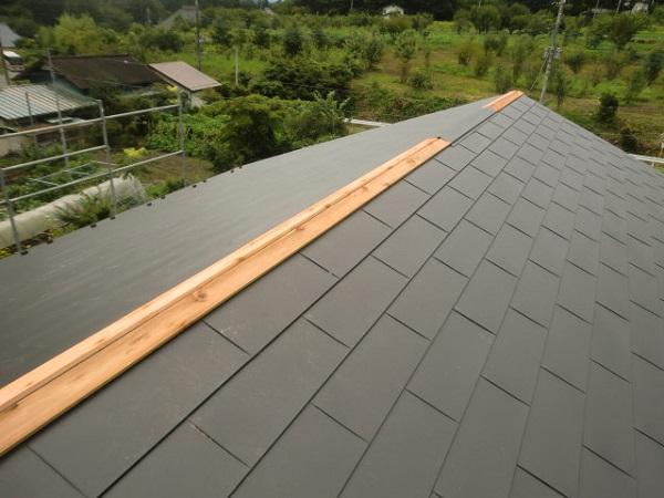 東京都杉並区 屋根葺き替え工事 瓦屋根からガルバリウム鋼板へ (2)