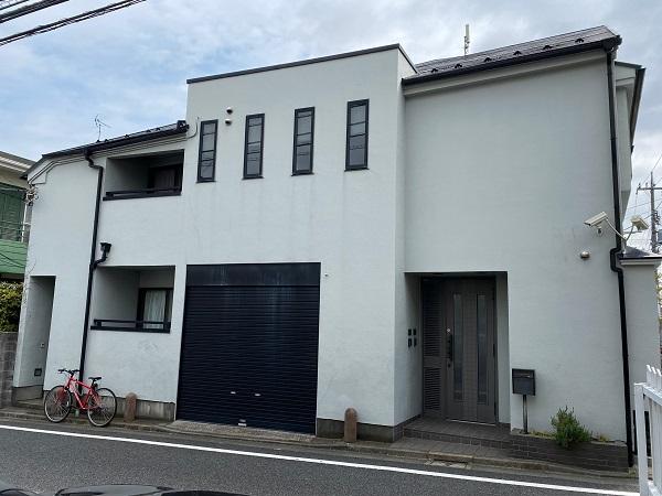 東京都世田谷区 外壁塗装・屋根塗装・防水工事 外壁事前調査 (6)