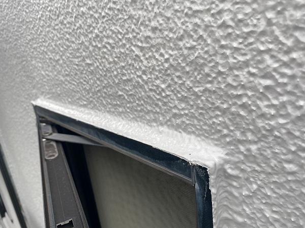東京都世田谷区 外壁塗装・屋根塗装・防水工事 付帯部塗装 モルタル外壁ひび割れ補修 日本ペイント パーフェクトトップ ラジカル制御式 (6)