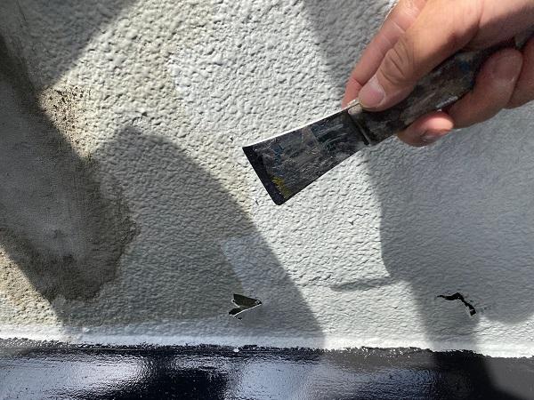 東京都世田谷区 外壁塗装・屋根塗装・防水工事 ケレン作業 目荒らし